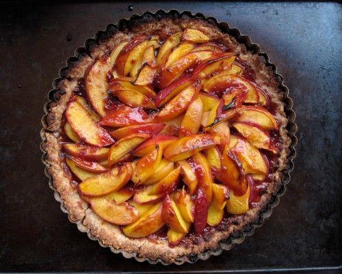 nectarine tart | Sweets | Pinterest