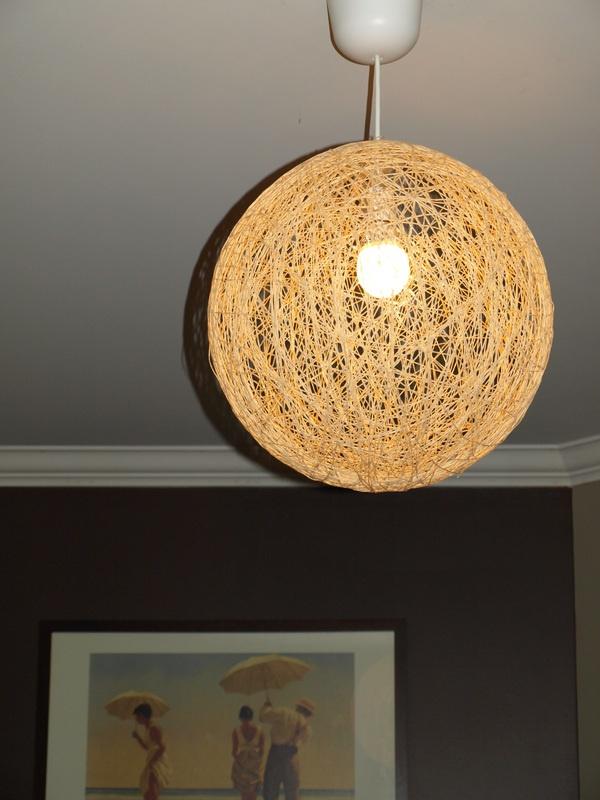 String light diy Bedrooms Pinterest