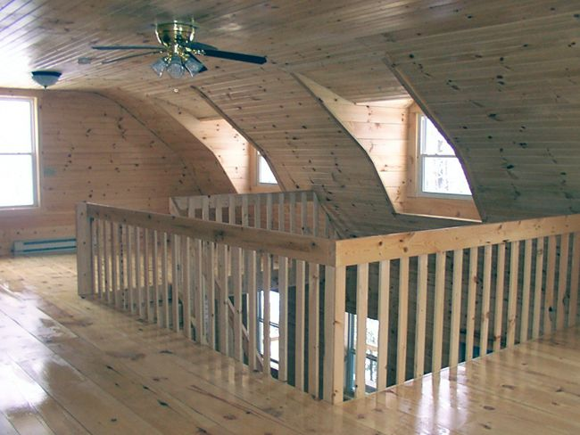 Finishing inside a pole barn joy studio design gallery for Pole barn interior designs