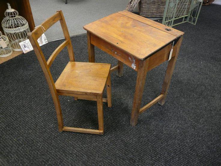 Pin by Vi Bricker on old school desk