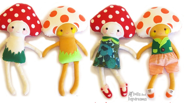 Dolls And Daydreams - Doll And Softie PDF Sewing Patterns: How to