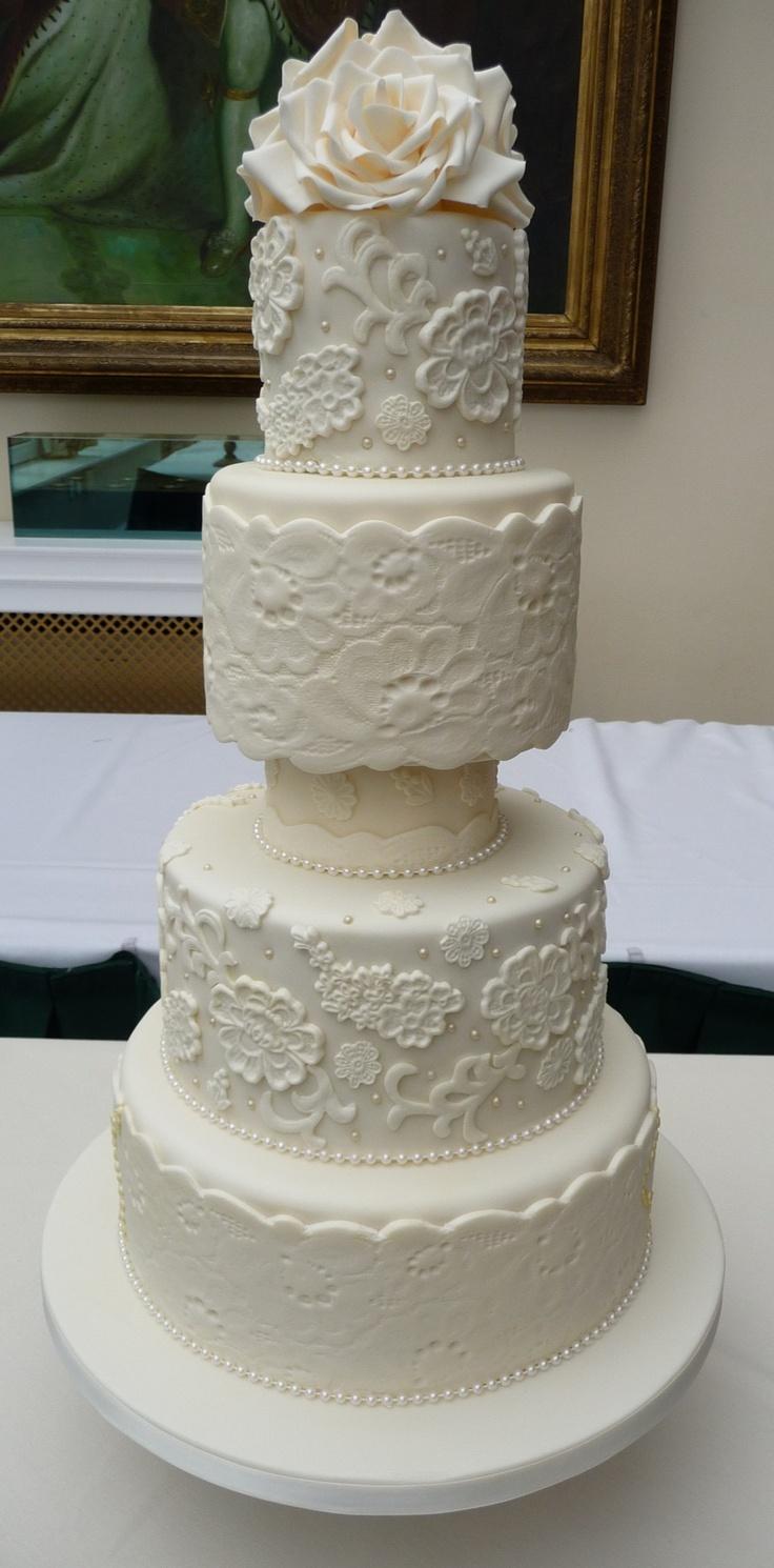 Cake Designs By Deborah : Pin by Cake Designs By Deborah on Wedding Cakes Pinterest