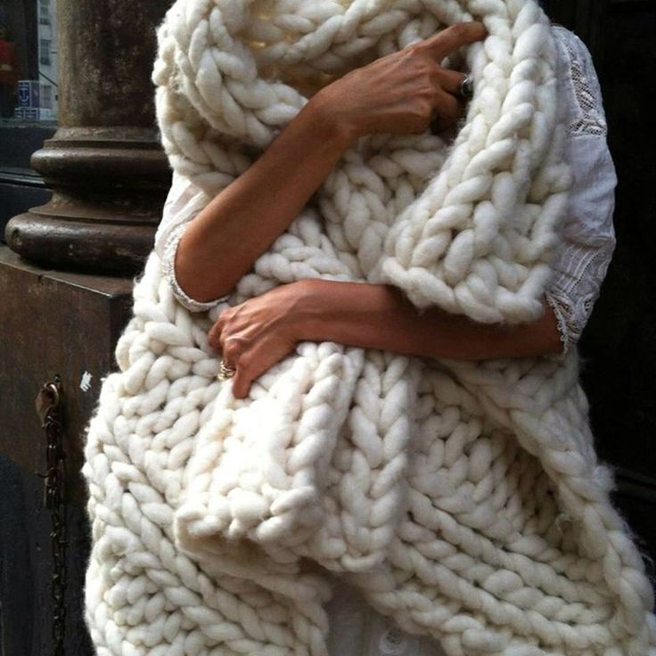 Chunky cable knit throw For the Home Pinterest