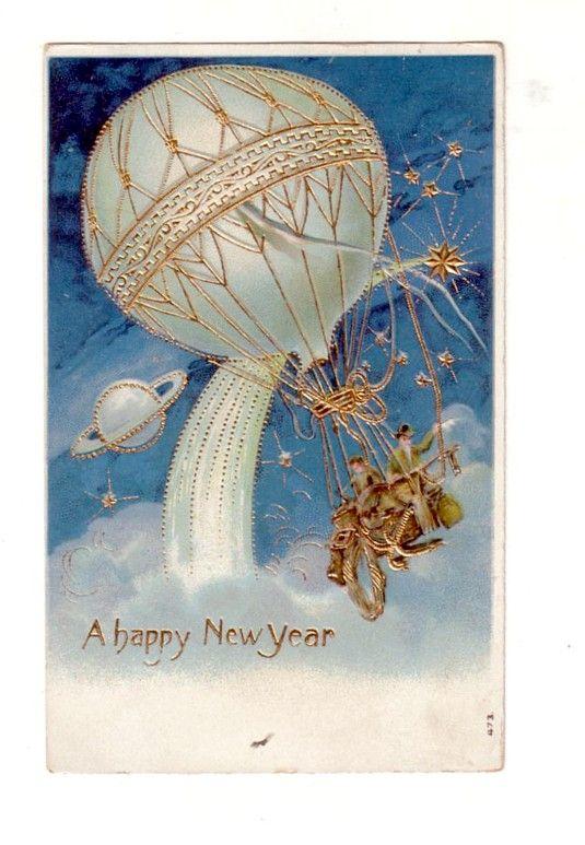 Vintage Happy New Year | NEW YEARS EVE AND DAY IDEAS
