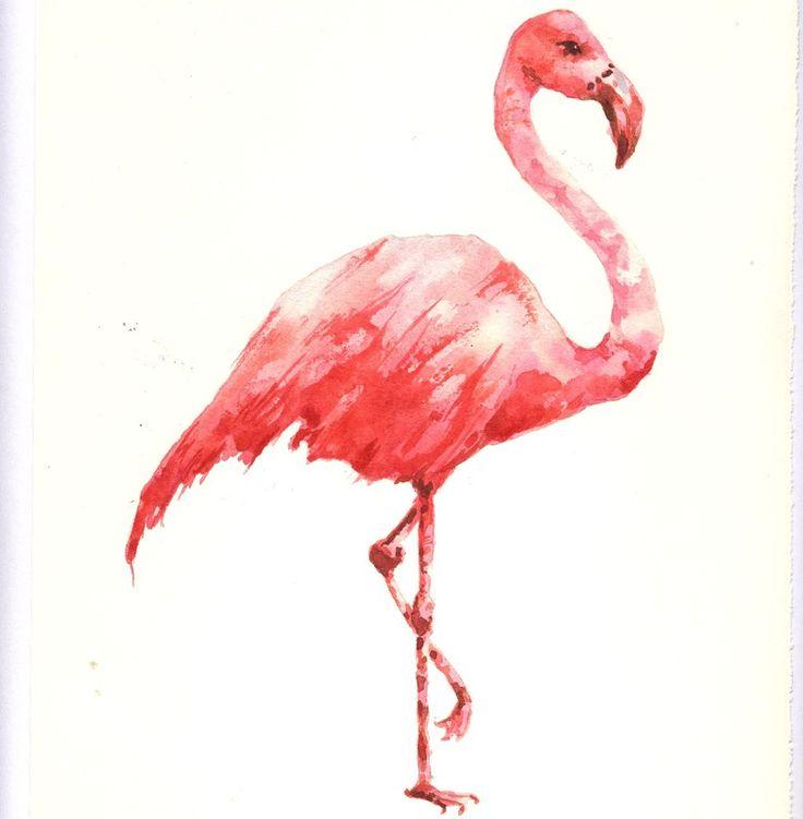 Love this print. Flamingo. | Flamingo! | Pinterest