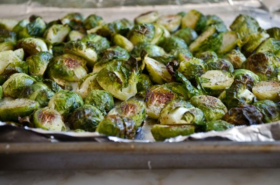 roasted-brussel sprouts | Food & Drink | Pinterest