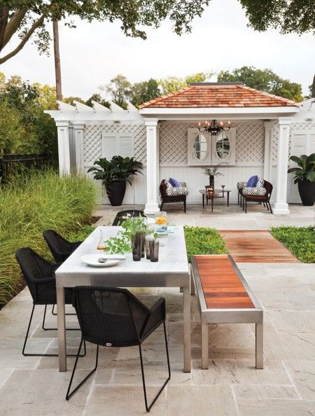 Perfect Backyard Oasis | photo Donna Griffith | design Meredyth Hilton | House
