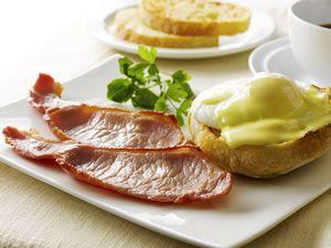 Eggs Benedict with Grilled Rashers | Irish Cuisine | Pinterest