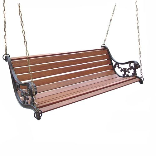 DC America 4-ft Lion Metal Porch Swing | For the Home ...