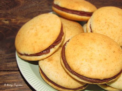 banana whoopie pies | A moment on the lips | Pinterest