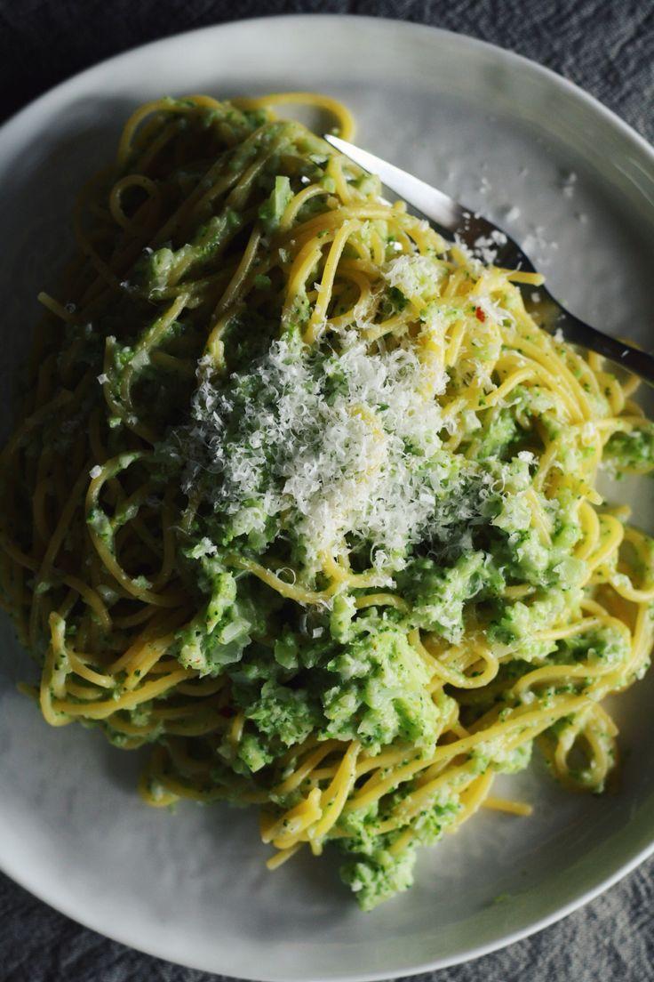 Broccoli Cream Pesto Pasta | Pasta & Noodles | Pinterest