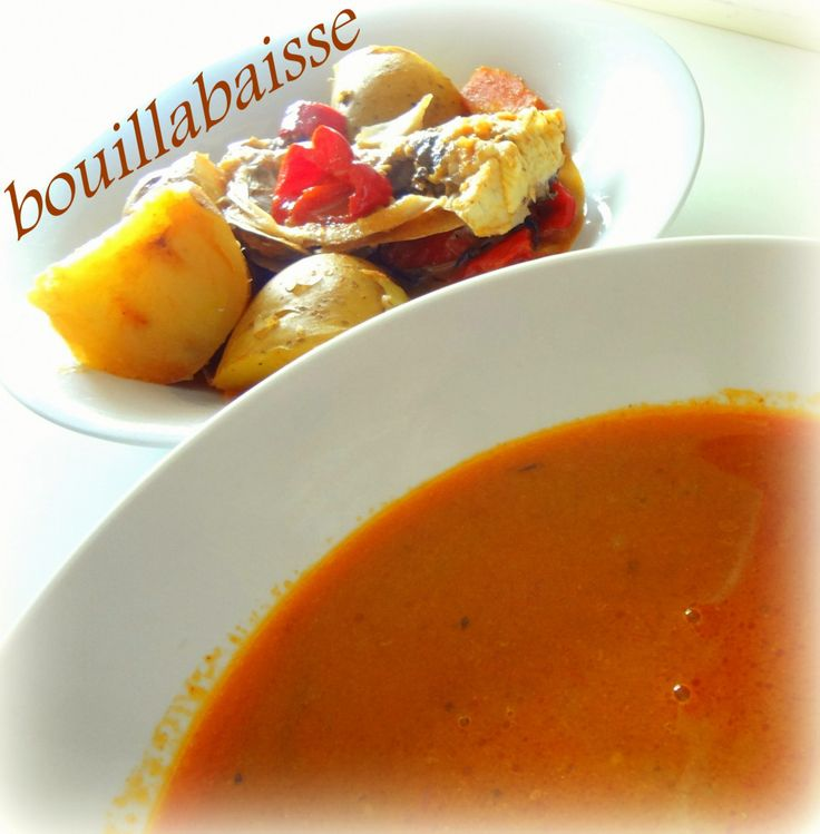Simple bouillabaisse (very low cost) | June food | Pinterest