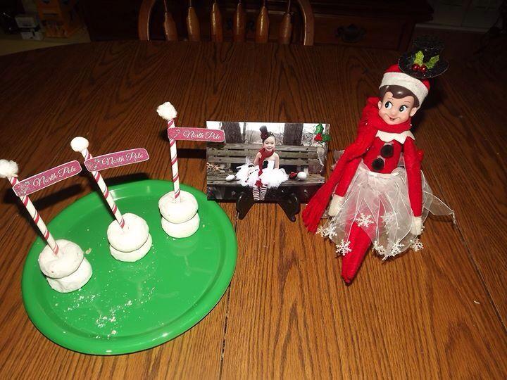 Elf on the shelf | Elf on shelf ideas | Pinterest