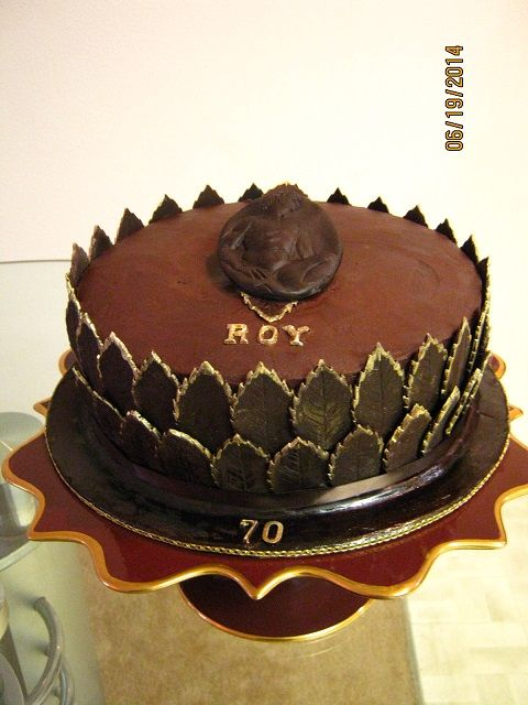 Birthday Cake Images For A Male : 70th birthday cake for a male friend. A series of my ...