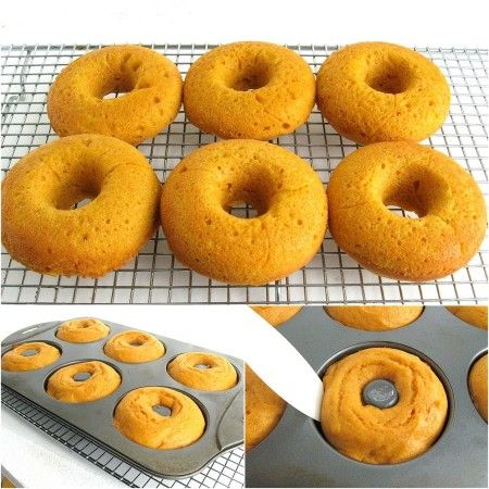 Baked Pumpkin Doughnuts | Recipes | Pinterest