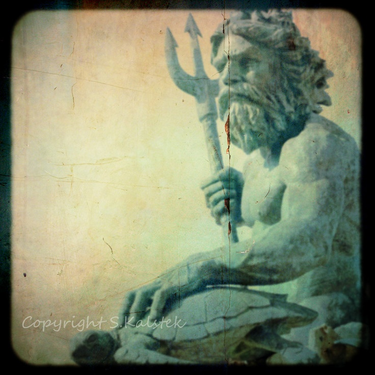 Neptune Photograph Greek Mythology God Of The Sea King