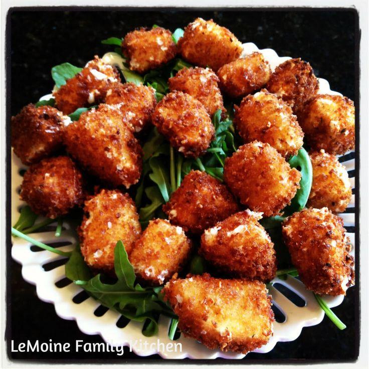 Fried Mozzarella Balls | Kid Friendly Food | Pinterest
