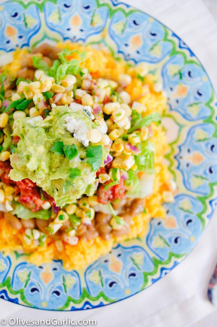 Corn Ceviche & Veggie Burrito Bowl   Cinco de Mayo Recipes!   Pintere ...