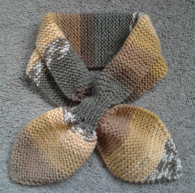 Knitting Pattern Bow Knot Scarf : Pinterest: Discover and save creative ideas
