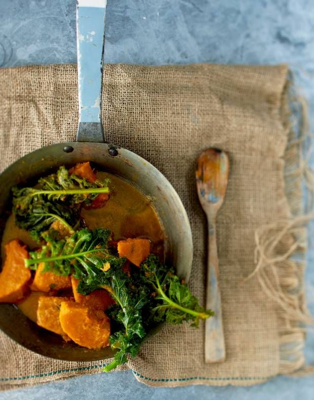 Bill Granger recipe: Miso, curly kale and kabocha pumpkin - Features ...