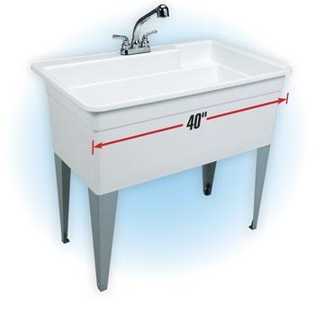Utility Wash Tub : Big utility sink/tub Model 28CF basement finishing Pinterest