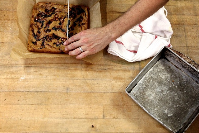 brittle and jam blonde brownies | Oven Open! | Pinterest