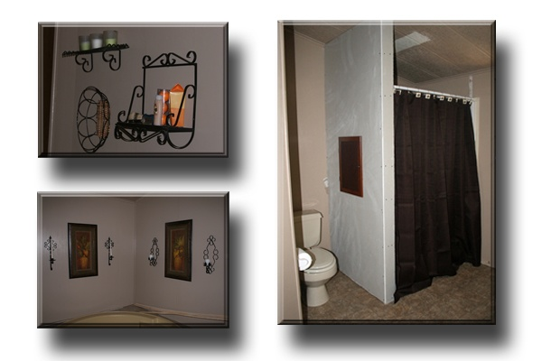 Mobile home remodeling master bathroom mobile home on for Mobile home master bathroom remodel