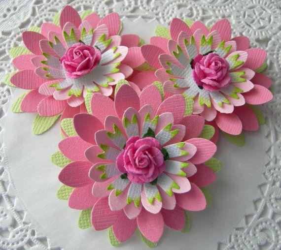 Бумажные розы своими руками мастер класс