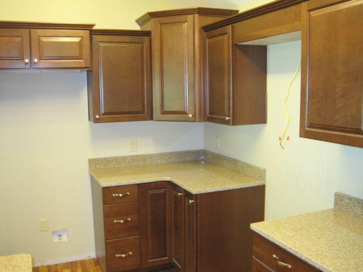 Waypoint cabinets and Granite tops | Kitchen Redo? | Pinterest