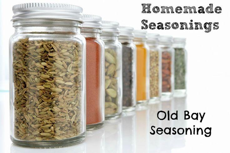 Homemade Seasonings:Old Bay Seasoning - Counting Change... Again