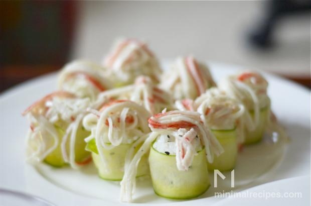 Cucumber and Avocado Roll | Yummy to Me Tummy :D | Pinterest