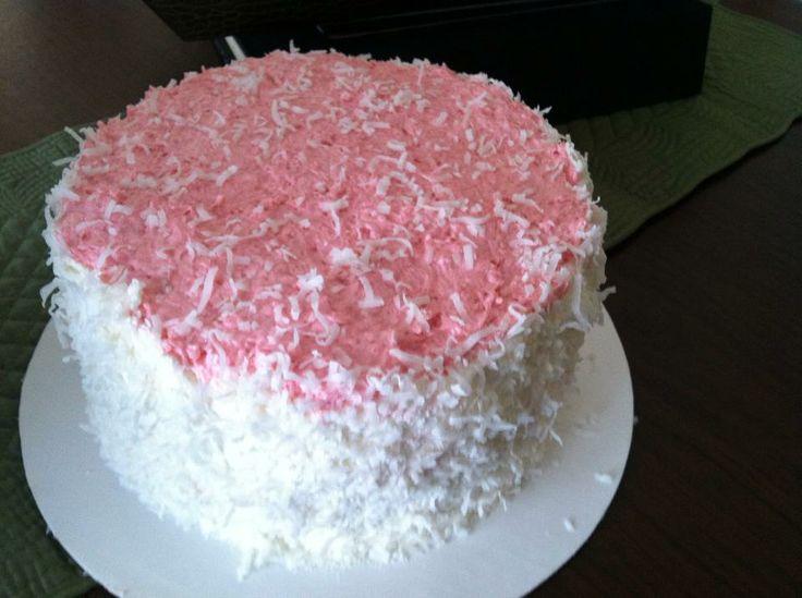 Raspberry-Coconut Cake. | Christopher's Confections | Pinterest