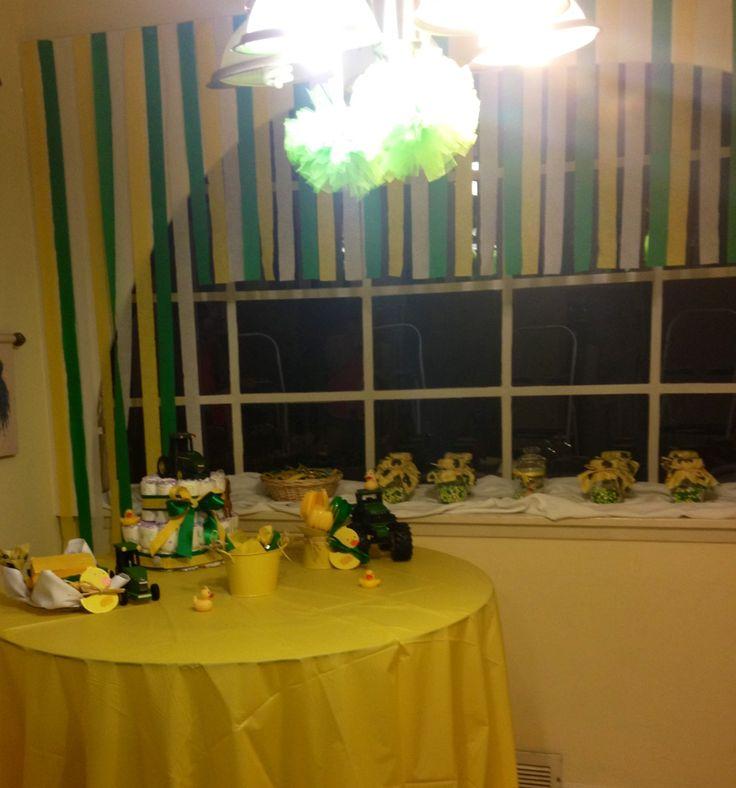 john deere baby shower decorations john deere pinterest