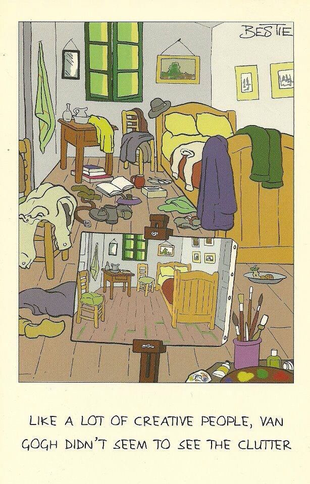 Funny Van Gogh Bedroom Funny Pinterest