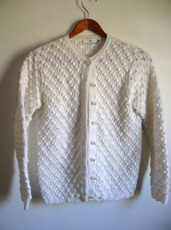White Cardigan No Buttons 2