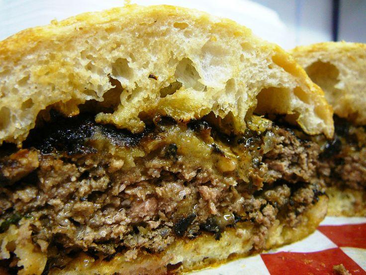 Crazy good Muffaletta burger at my favorite Jersey Shore spot http ...