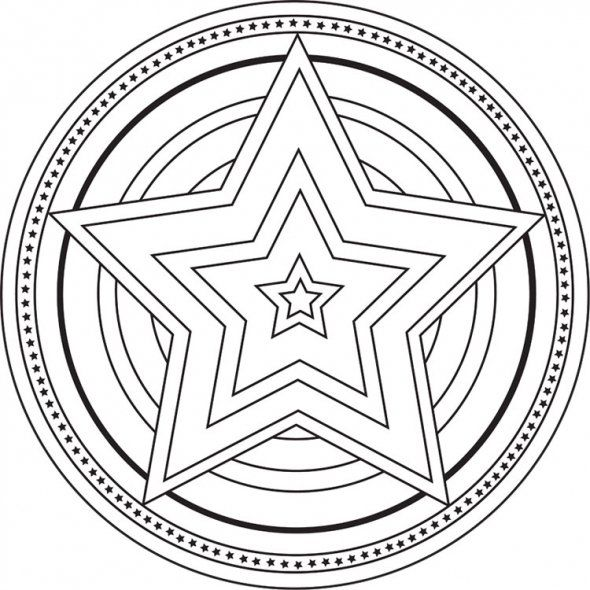 Website With Free Mandala Designs To Color Calm Students Down