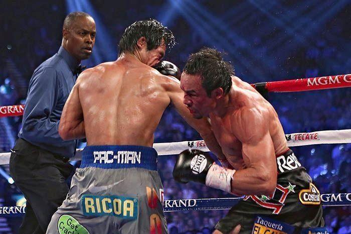 Pacquiao vs marquez iv ko blow boxing pinterest