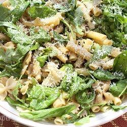 Summer Pasta Salad with Baby Greens | Weight Watchers Salads | Pinter ...