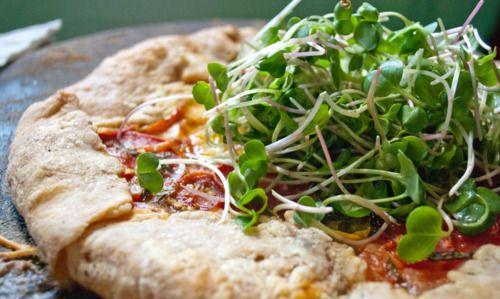 Heirloom Tomato Galette | Food & Drink | Pinterest