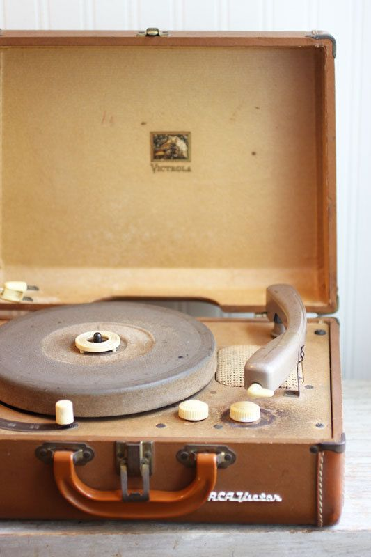 Rca Victor Record Player Vintage Record Player 1950s