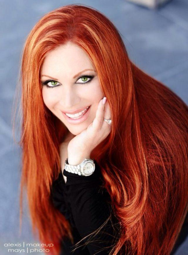 Alexis vogel beautiful redhead