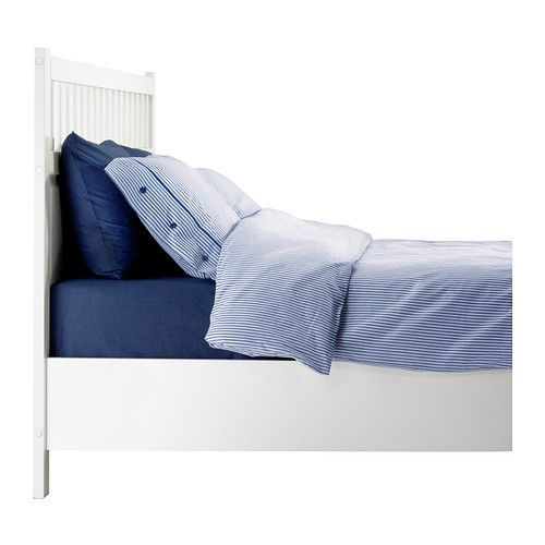 Ilse Crawford Ikea Collection ~ HEMNES Bed frame IKEA Adjustable bed rails allow the use of mattresses