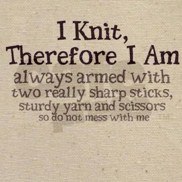 Inspirational Knitting Quotes : Knitting humor quotes quotesgram
