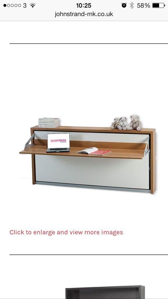 Fold away desk bed.   For the Home   Pinterest