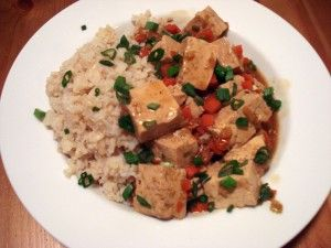 Red Cooked Tofu | The food is blessed...amen :-) | Pinterest