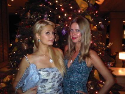 Paris Hiltons holiday Twitpics