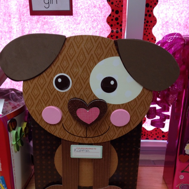 puppy valentine's day box