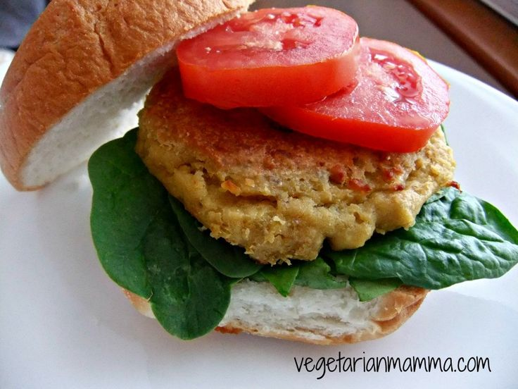 Chickpea Burgers – #glutenfree | Recipe