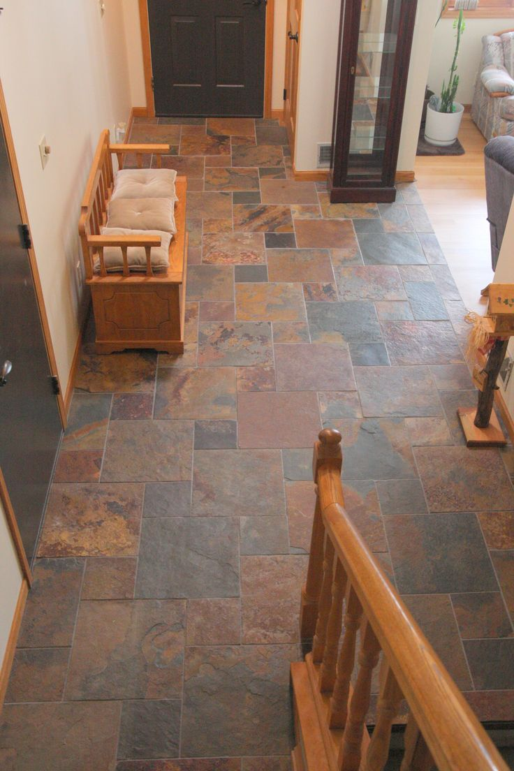 Entryway tile pretty home pinterest for Tile for entry foyer